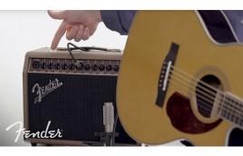 Amplifier Fender Acoustasonic 40 mang đến trải nghiệm âm thanh phong phú