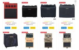 Amplifier & Effect Roland giảm sốc đến 6 triệu
