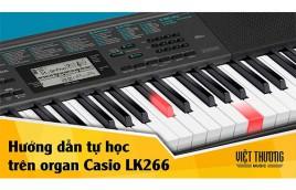 Đàn Organ Casio LK-266 - Ươm mầm tài năng âm nhạc nhí