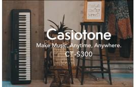 So sánh và đánh giá keyboard Casiotone S100, S200 và S300