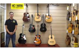 Đặc điểm nổi bật về Guitar Fender dòng CD, CC và CN