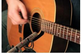 Vị trí đặt micro tốt nhất cho đàn guitar acoustic