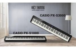 Hệ thống phím đàn mới trên Piano điện Casio PX-S1000 và Casio PX-S3000