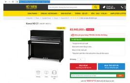 Mua đàn piano kawai ND21 chính hãng ở đâu?
