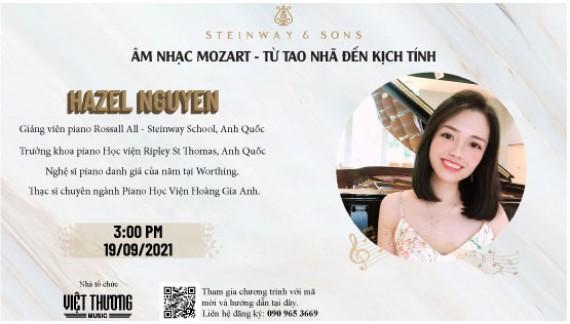 Âm Nhạc Mozart - Từ Tao Nhã Đến Kịch Tính