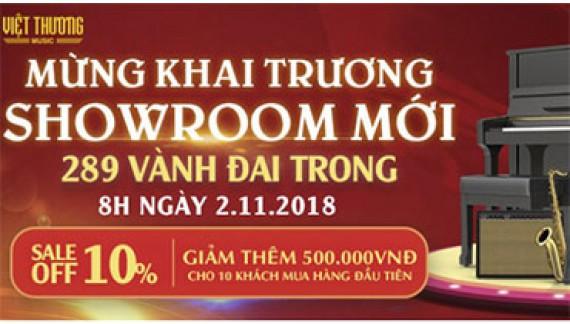 Việt Thương Music tưng bừng khai trương Showroom quận Bình Tân