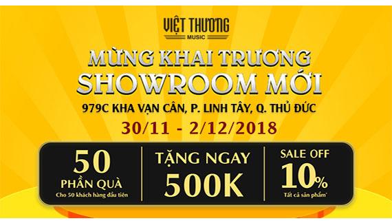 Việt Thương Music khai trương Showroom quận Thủ Đức