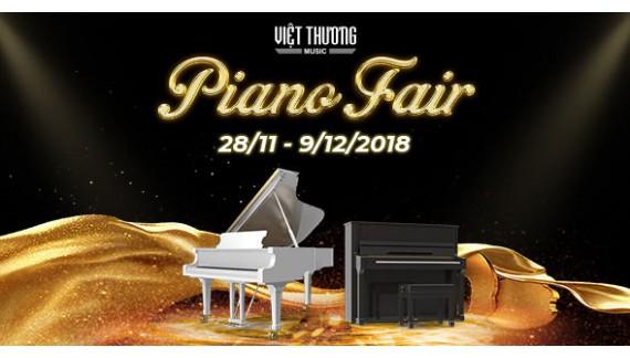 Triển lãm Piano 2018 tại Việt Thương Music