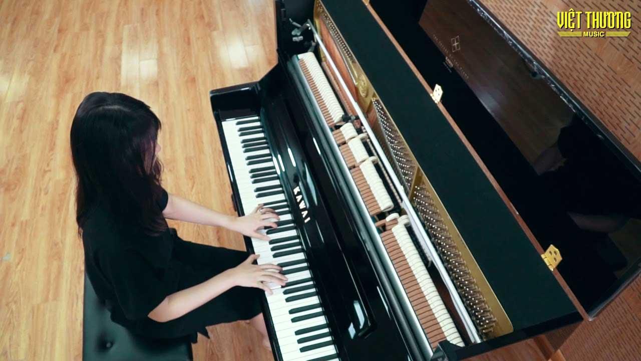 Piano Kawai K300 - cây đàn piano An Coong gắn lựa chọn khi mới bắt đầu chơi piano
