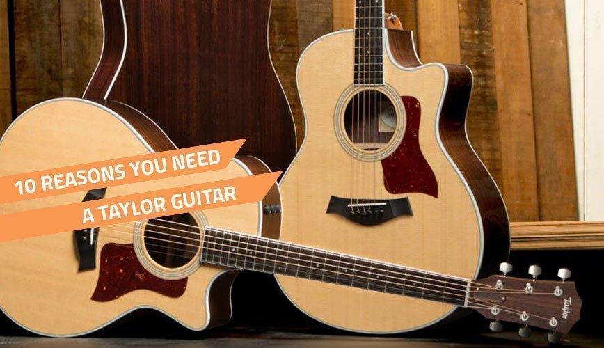 Review Guitar Taylor 214ce Acoustic Guitar