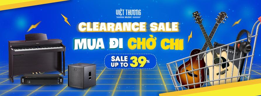 Clearance Sale - Mua đi chờ chi