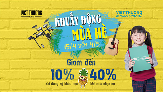 Khuấy động mùa hè cùng Việt Thương Music