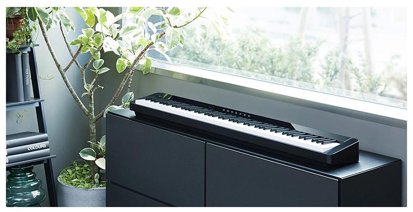 Casio PX-S1000 nổi bật với thiết kế siêu mỏng