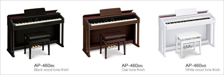 Đàn Piano điện Casio AP-460 thuộc dòng Celviano cao cấp của Casio