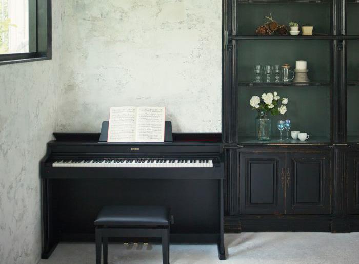 Đàn Piano điện Casio AP-470 có thiết kế sang trọng