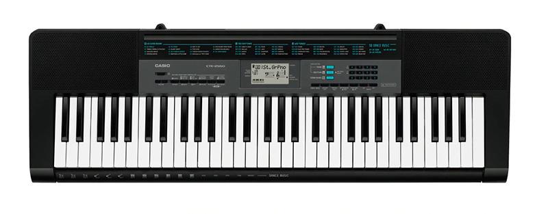 Casio CTK-2550 cho phép bạn tạo nhạc Dance một cách nhanh chóng