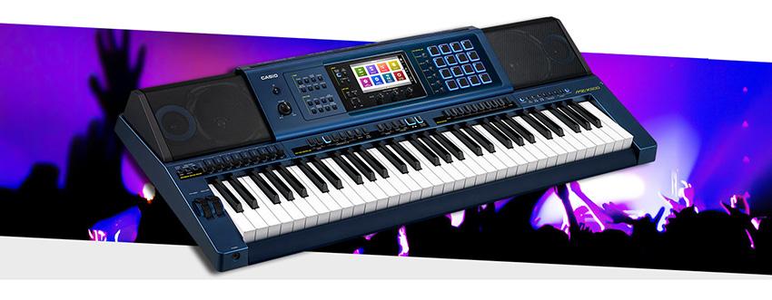 Đàn Organ Casio MZX-500 có thiết kế chuyên nghiệp