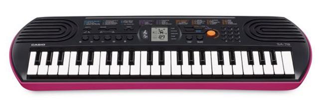 Đàn Organ Casio SA-78 giá rẻ, độ bền cao