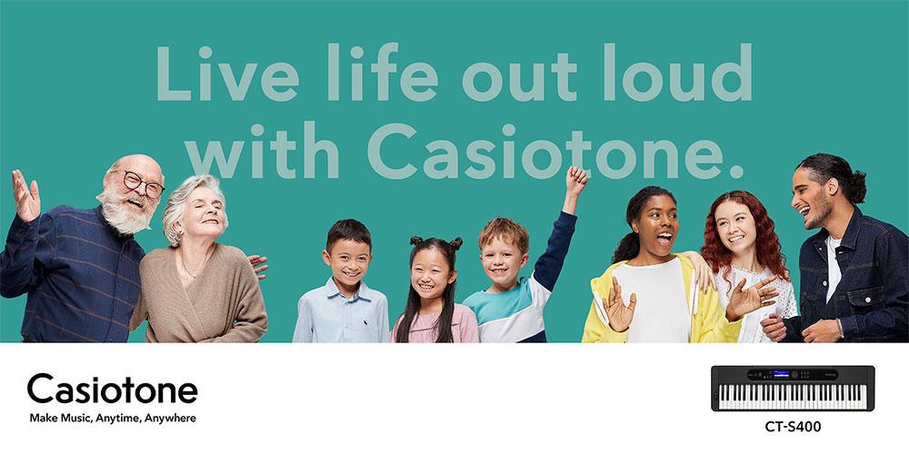 Casiotone CT-S400