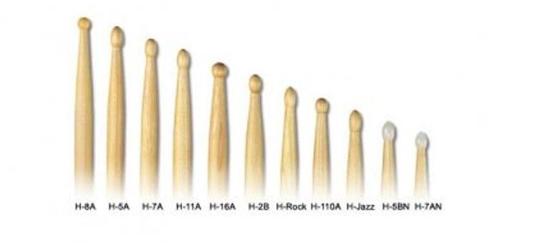 Dùi trống Rook chất lượng cao, được làm bằng gỗ cho âm thanh đầy đủ và phản hồi nhanh, mang đến cảm giác thoải mái cho người chơi