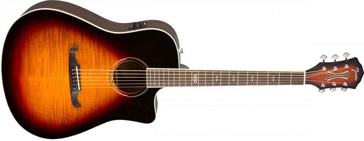Guitar Fender T-Bucket 300CE nổi bật với thiết kế đẹp mắt