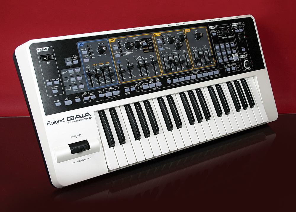 Đàn Organ Roland GAIA SH-01 có thiết kế nhỏ gọn
