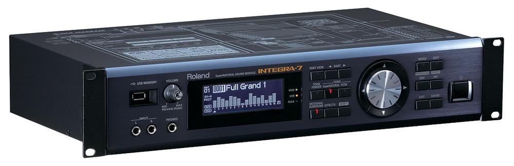 Roland Integra-7 nổi bật với thiết kế hiện đại, chuyên nghiệp