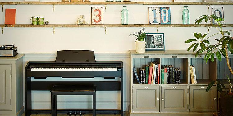 Casio Privia Piano Giải pháp âm thanh hoàn hảo cho gia đình có không gian nhỏ