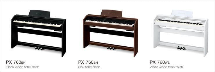 Casio PX-760 bàn phím hoàn hảo với 88 phím đàn
