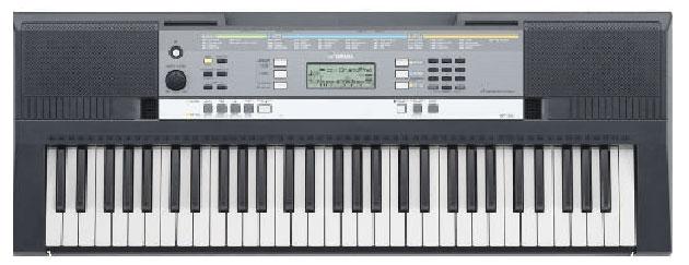 YPT-240 có chức năng học đàn được gọi là Yamaha Education