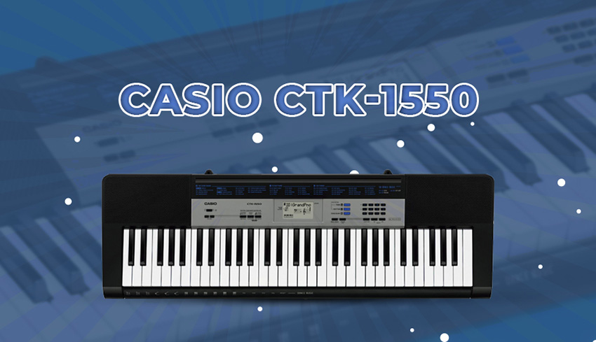 ở hữu đàn Casio CTK-1550 các bạn hoàn toàn yên tâm về chất lượng, độ bền