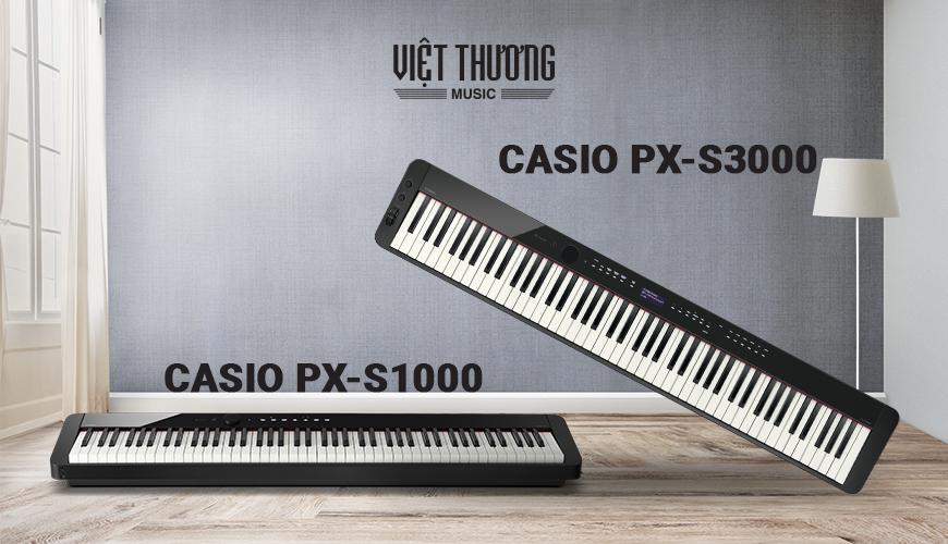piano điện casio px-s1000 và px-s3000 tại việt thương shop