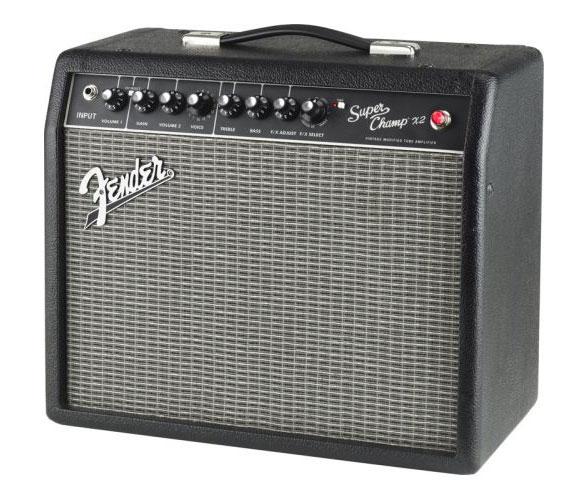 Amplifier Fender Super Champ X2 230V EUR có cấu tạo đơn giản