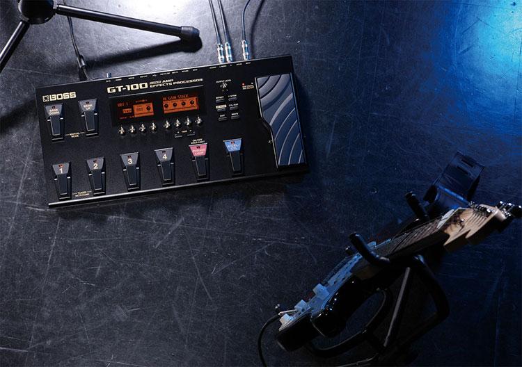 Boss GT-100 là sản phẩm được chờ đón sau Boss GT-10