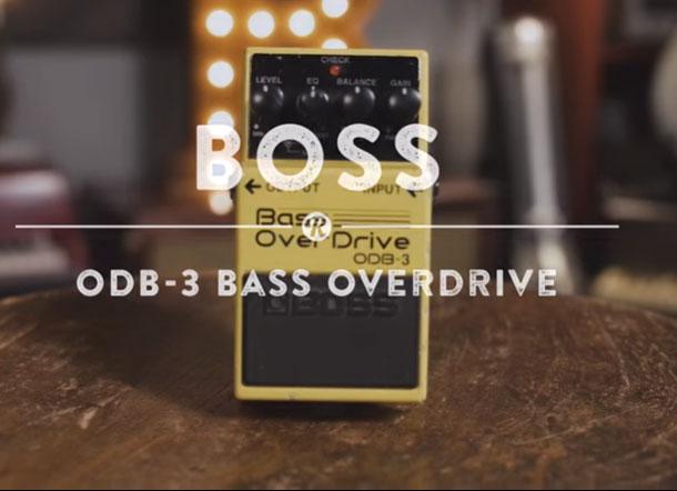Boss ODB-3 có thiết kế nhỏ gọn
