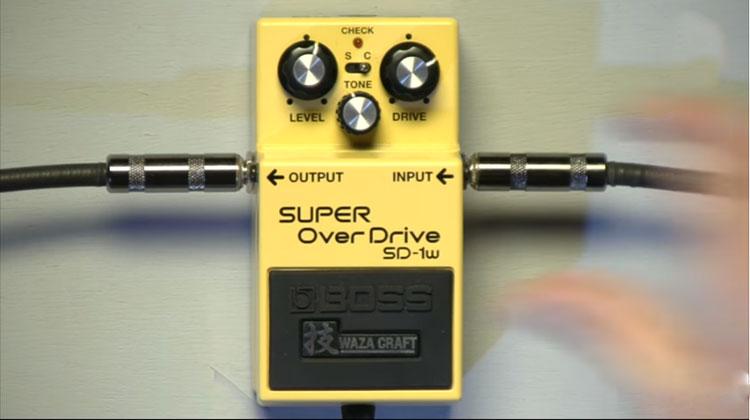 Boss SD-1W được thiết kế bởi những kỹ sư lành nghề