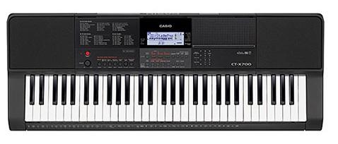 Đàn Organ Casio CT-X700 có thiết kế chuyên nghiệp