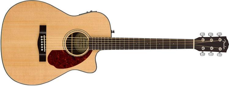 Đàn Guitar Fender CC-140SCE được thiết kế dáng Cutaway Concert