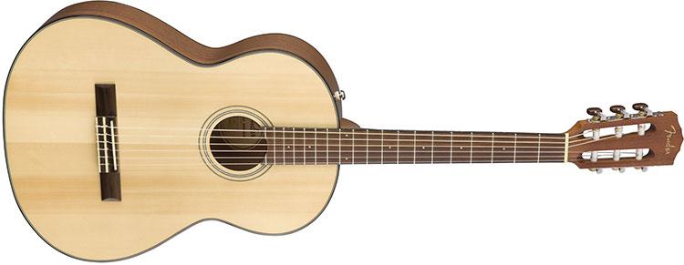 Đàn Guitar Fender Classic CN-60S có kích thước nhỏ gọn
