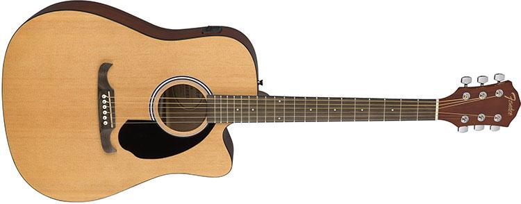 Mặt phím đàn làm từ gỗ Rosewood giúp tối đa hóa khả năng chơi mượt mà cho cây đàn