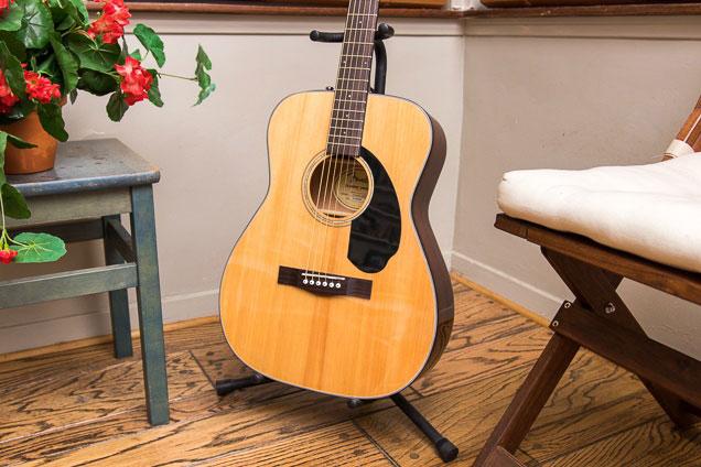 Đàn Guitar Fender CC-60S nổi bật với thiết kế dáng Concert nhỏ gọn