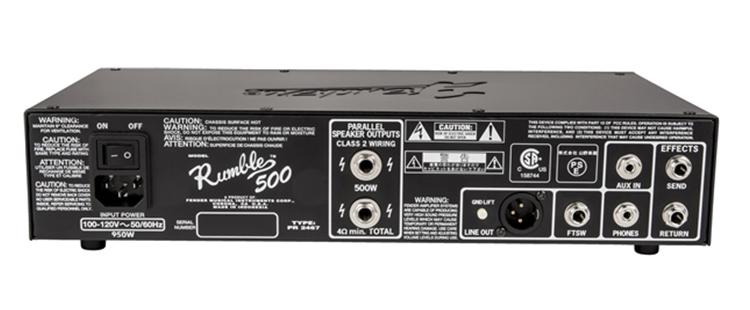 Fender Rumble 500 HD V3 230V EU đảm bảo chất lượng âm thanh