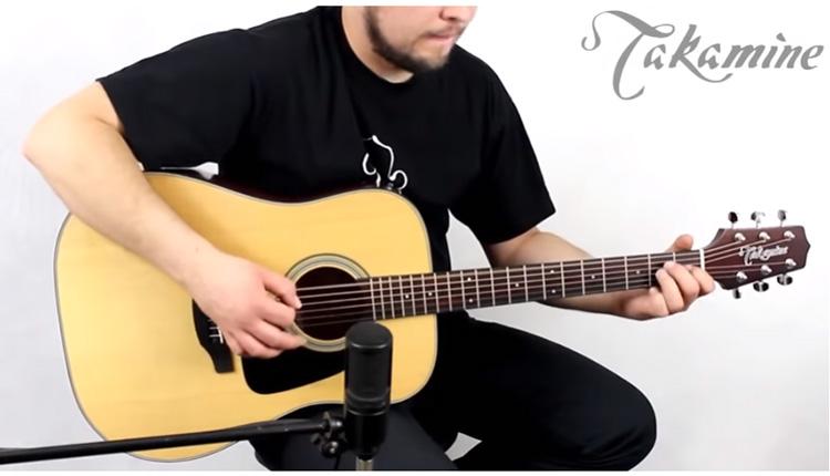 Đàn Guitar Takamine GD10 được thiết kế dáng Dreadnought