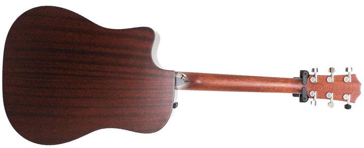 Mặt sau và hai bên hông của Taylor 310CE được làm từ gỗ sapele