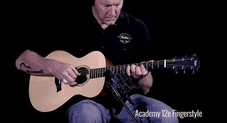 Đàn Guitar Academy A12-E thuộc dòng seri Academy