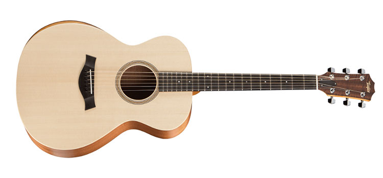 Đàn Guitar Taylor Academy 12 có dáng đàn nhỏ gọn