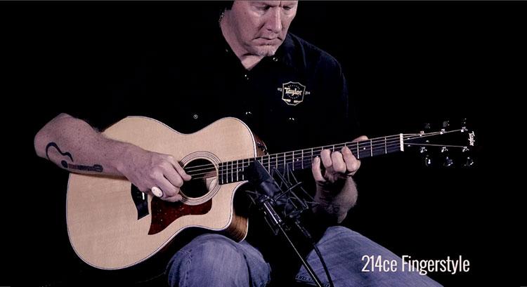 Đàn guitar Taylor 214CE thuộc Series 200