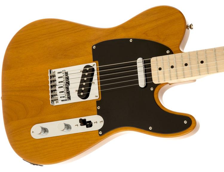 Squier Affinity Series™ Telecaster® sở hữuâm thanh đa dạng và dễ chơi, đàn guitar điện này là sự lựa chọn tuyệt vời cho tất cả chúng ta.