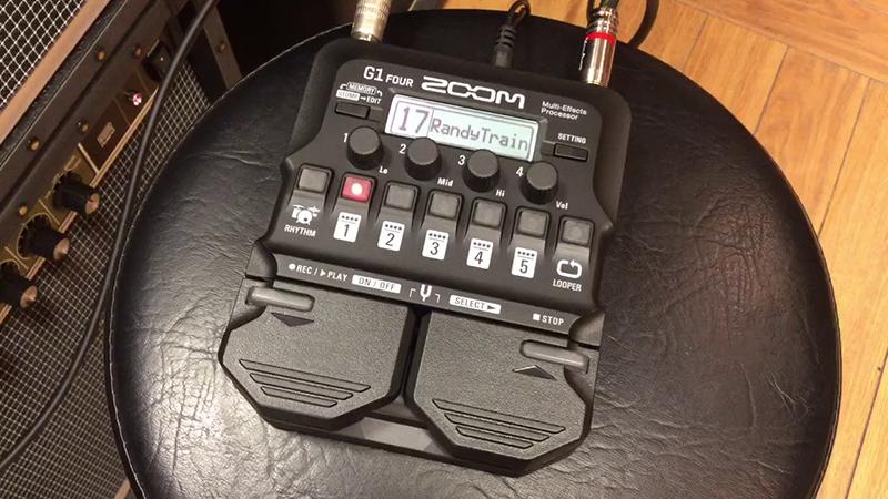 guitar effects zoom g1 four mang đến chất lượng âm thanh đảm bảo