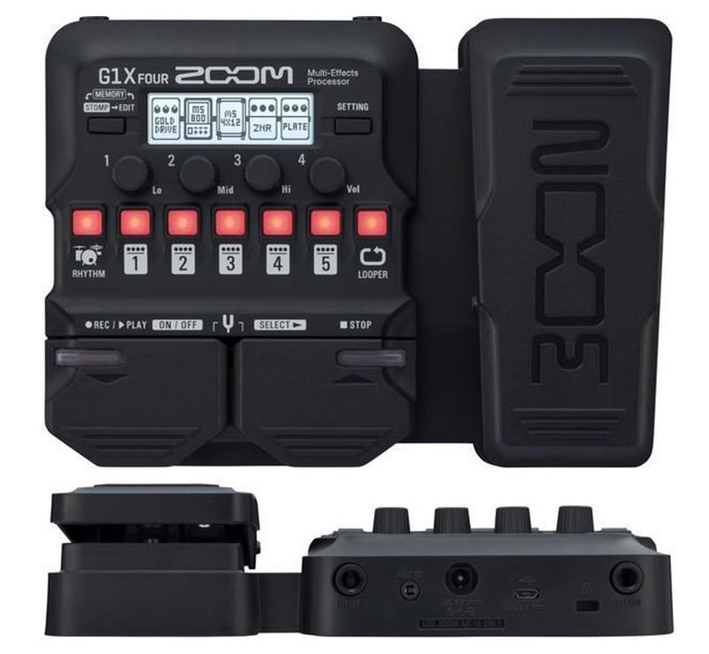 guitar effects zoom g1X four đảm bảo chất lượng, độ bền